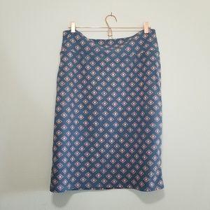 Lularoe cassie skirt - grey and pink 3XL (b)